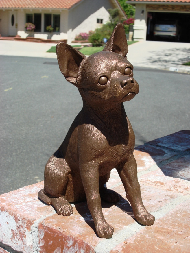 Great American Bronze Works Inc Sculptures Chihuahua