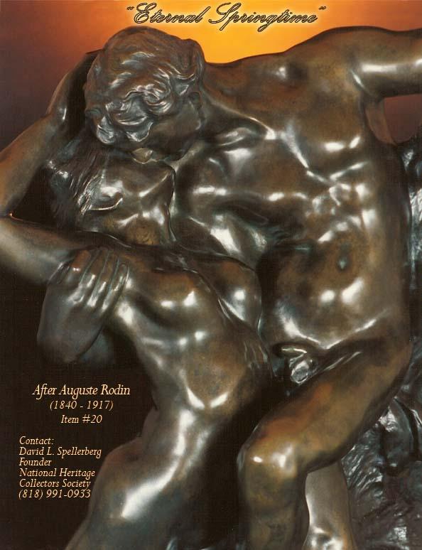 Great american bronze works inc sculptures eternal