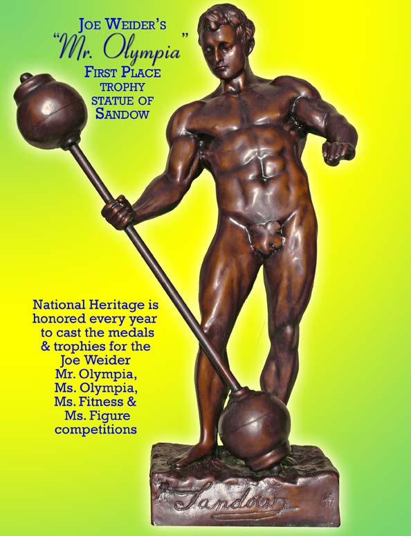 Great American Bronze Works Inc Mr Olympia